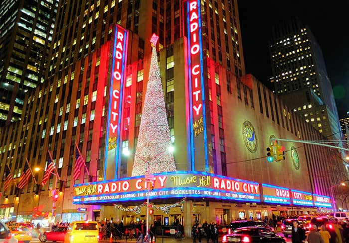 Рождественские каникулы в Нью-Йорке - Radio City Music Hall