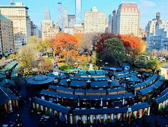 Рождественские каникулы в Нью-Йорке - Union Square Рынок