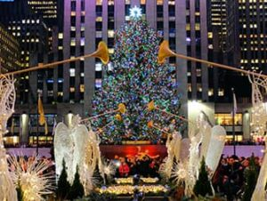 Рождество в Нью-Йорке