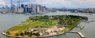 Губернаторский остров в Нью-Йорке