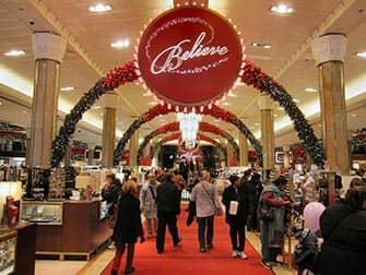 Macy's в Нью-Йорке на Рождество