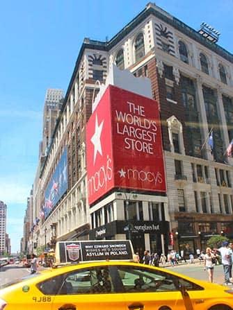 Macy's в NY