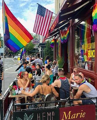 Гей-парад в Нью-Йорке - Philip Marie