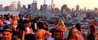 Лучшие бары на крышах в Нью-Йорке