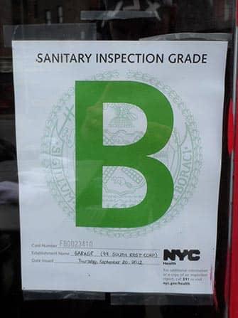 Гигиена в ресторанах Нью-Йорка