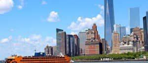 Статен Айленд Ферри в Нью Йорке
