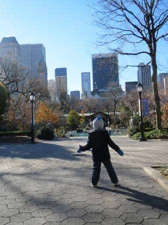 Чем заняться с детьми в Нью-Йорке в центральном парке