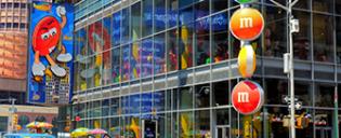Магазин M&M's на Таймс-сквер