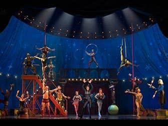 Pippin мюзикл на Бродвее цырковое представление