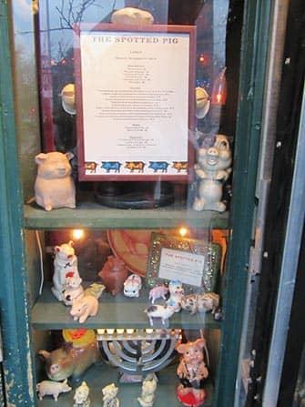 Вест-Виллидж в Нью-Йорке Spotted-Pig