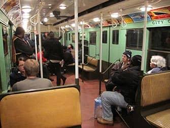 Винтажные поезда Нью Йорк