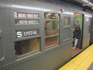 Винтажные поезда в Нью Йорке