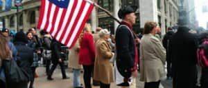 День ветеранов в Нью Йорке