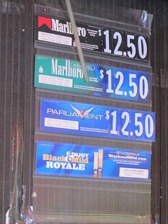 Курение в Нью-Йорке продажа