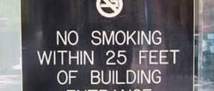 Курение в Нью Йорке