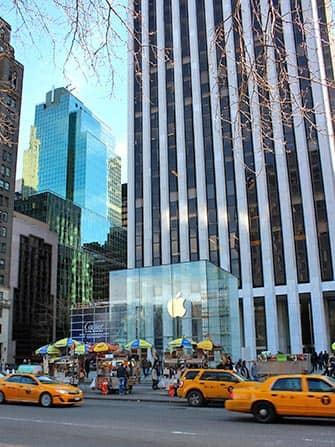 Электроника и гаджеты в Нью-Йорке Apple-Store