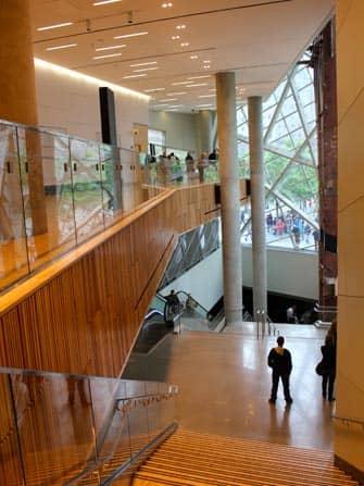 Музей 911 в Нью-Йорке внутри