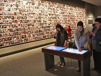 Музей 911 в Нью-Йорке фотографии