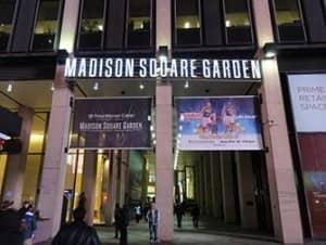 Мэдисон сквер гарден в Нью Йорке