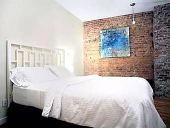 Апартаменты в Нью-Йорке - TEN15NYC спальня