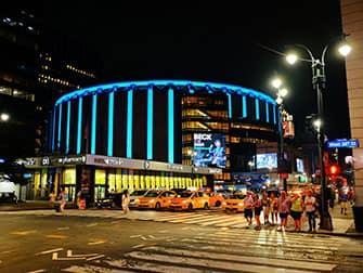 Мэдисон-сквер-гарден в Нью-Йорке - стадион