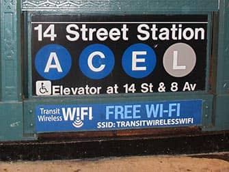 WiFi в Нью-Йорке на станциях