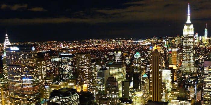 Ночной тур по Нью-Йорку Top of teh Rock
