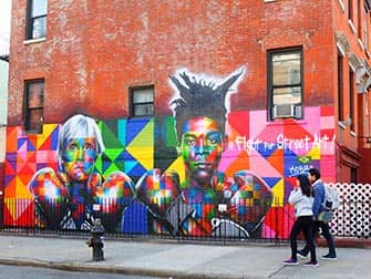 Тур по районам Бруклин, Куинс и Бронкс Graffity
