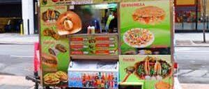 Уличная еда в Нью Йорке
