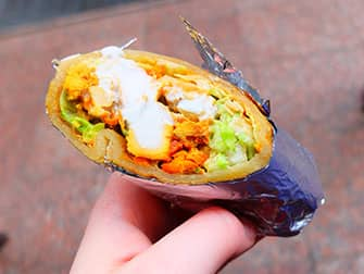Уличная еда в Нью-Йорке-Indian