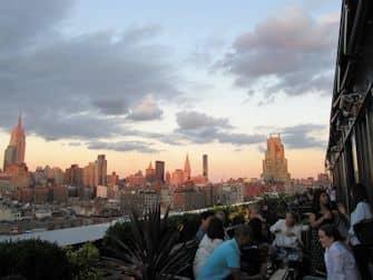 Тур по барами на крышах Нью-Йорка - PHD