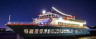 Круиз с ужином по реке Гудзон в Нью-Йорке