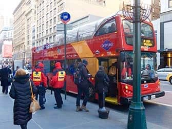 New York Sightseeing Day Pass – автобус Hop-on Hop-off